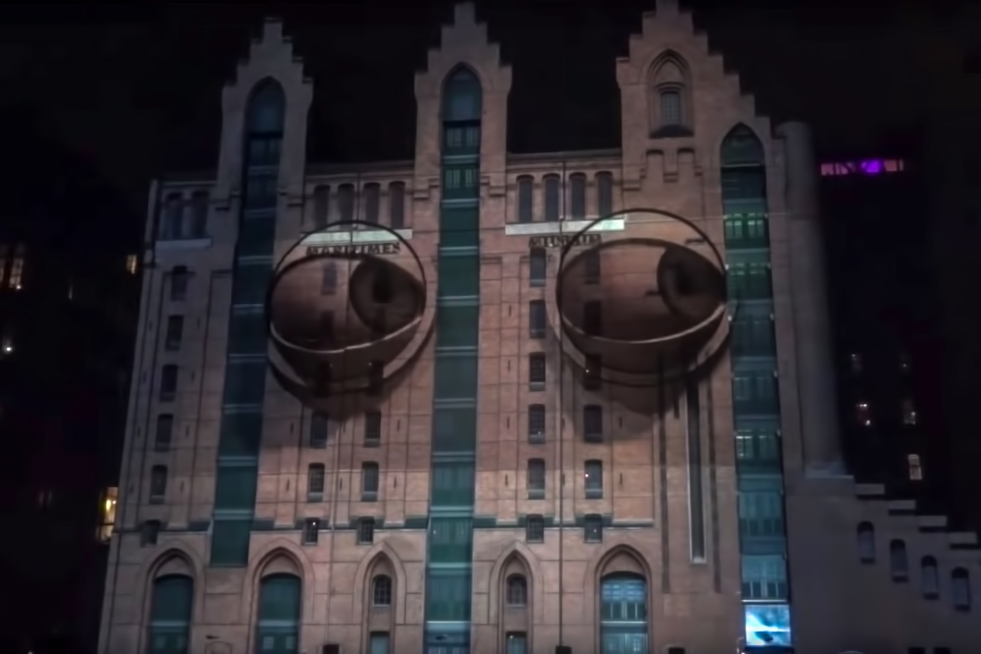 Projection Mapping